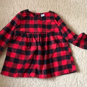 Carters Plaid top